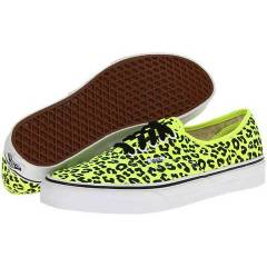 Vans Ayakkab� - Authentic Neon Leopard