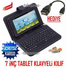 7 in� TABLET KILIFI KLAVYEL� TABLET KILIFI+2 OTG