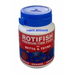 Rotifish For Betta&Tetra �zel Bal�k Yemi 100ml