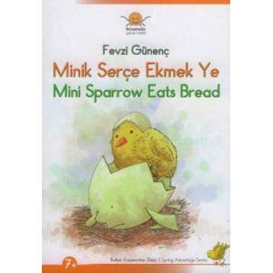 Minik Ser�e Ekmek Ye - Mini Sparrow Eats Bread