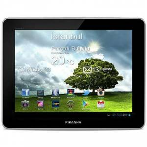 Piranha Aristo 9.7'' Tablet Bilgisyar 5 MP Ark
