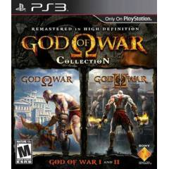 God of War Collection Ps3 Oyunu 2 OYUN TEK PAKET