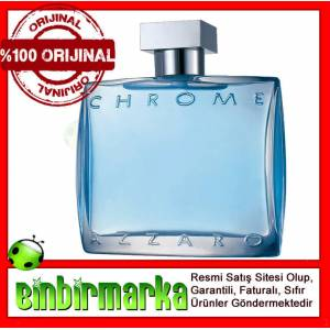 Azzaro Chrome Edt 100ml Erkek Parf�m� ORJ�NAL