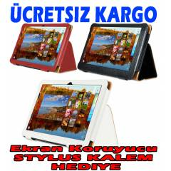 General Mobile E-Tab 10.1 inch Tablet K�l�f�