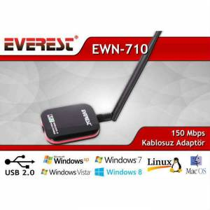EVEREST EWN-710 USB W�RELESS ADAPT�R 29,90