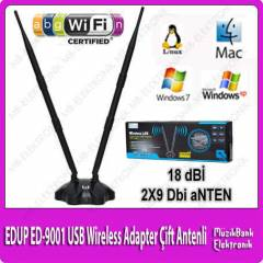 EDUP ED-9001 USB Wireless Adapter �ift Antenli