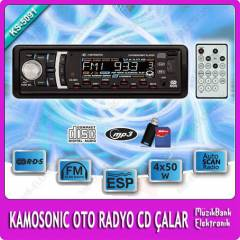 Kamosonic KS-5091 OTO RADYO CD USB �ALAR