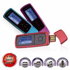 GOLDMASTER MP3-294 4GB MP3 PLAYER