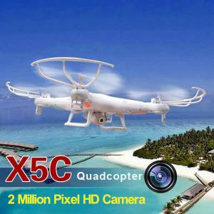 Yeni-4 Pervaneli Helikopter-Quadcopter HD Kamera