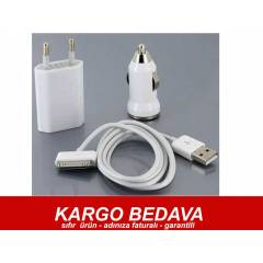 IPHONE 4 - 3 IPHONE 3G/3GS L� �ARJ SET� PL-677