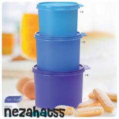 TUPPERWARE S�L�ND�R KAPLAR 3 l� set YEN� �R�N