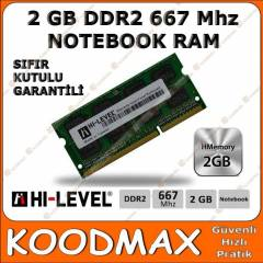 2GB DDR2 667 MHz NOTEBOOK RAM (HI-LEVEL)