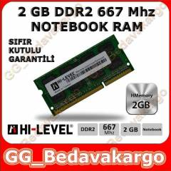 HI-LEVEL 2GB 667 Mhz DDR2 Notebook Ram