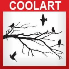 COOLART Duvar Sticker (st304)