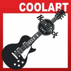 COOLART Duvar Sticker Hard Rock Cafe (st394)