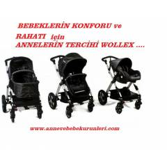 Wollex New york 2.nesil Bebek arabas� Travel set