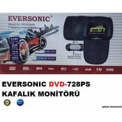 Eversonic dvd728PS Oyunlu Ba�l�k Kafal�k Monit�r