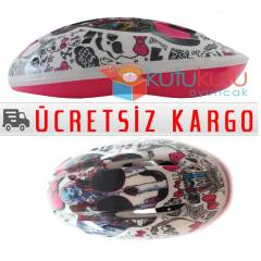 K�z �ocuklar� ��in Koruyucu Kask Monster High