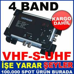 SF06 SATFİNDER 4 BAND MİNİ MODÜLATÖR AS-400 KD