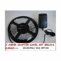S�L�KONLU �ER�T LED 5 MT KOMPLE SET 3528 DI� ORT