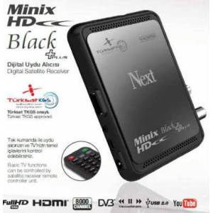 Next MiniX HD Black Plus Full HD Uydu Al�c�s�
