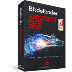 BitDefender Antivir�s Plus 2015 1 PC 1 YIL