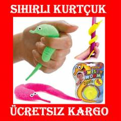 �ocuklar ��in Sihirli Kurtcuk Magic Twisty Worm
