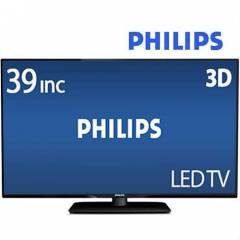 Philips 39PFL4398H/12 FHD 100 HZ 3D Slim LED TV
