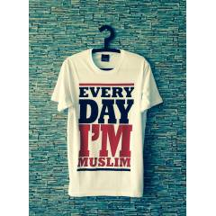 NEW! EVERY DAY �'M MUSL�M T-SHIRT obey supra