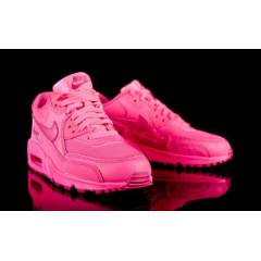 Nike  Air Max 90 2007 FULL-PINK WMNS SHOES
