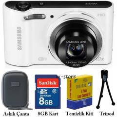 Samsung WB30F 16.2MP HD WiFi Foto�raf Makinesi