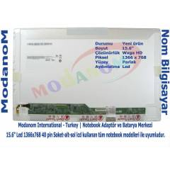 "HP G62-201XX Ekran 15.6"" Led Panel"