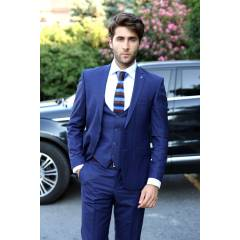 Italyan Yelekli Slim Fit For Edit Tak�m Elbise