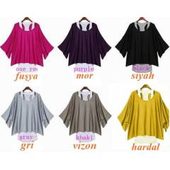 JAPON STYLE TSH�RT BLUZ BAYAN SWEATSH�RT tunik