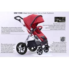 WOLLEX NEW YORK 2.NES�L BEBEK ARABASI TRAVEL SET