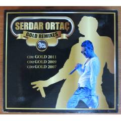 SERDAR ORTA� GOLD REMIXES - DIGIPACK 3CD 2.EL