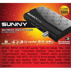 Sunny AT-16100 Usb Media Player Full Hd