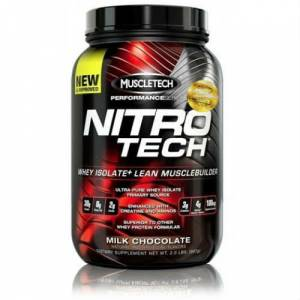 MUSCLETECH Performance Nitrotech Protein 908 gr