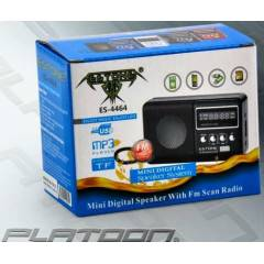 ESTONE USB-SD DIGITAL FM RADIO/MP3 HOPARL�R