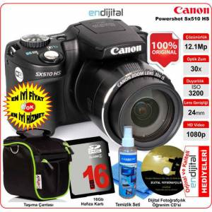 Canon Powershot SX510 HS 12.1 MP 30x Zoom