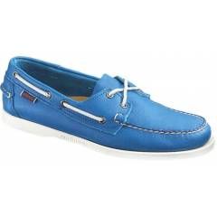 Sebago Mens Casual Shoes Docksides blue Leather
