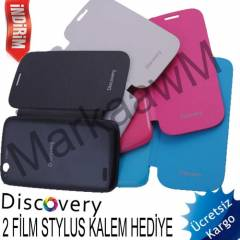 General Mobile Discovery K�l�f Flip Cover Kapak