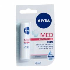 NIVEA LIP CARE MED PROTECTION DUDAK BAKIM KREM�