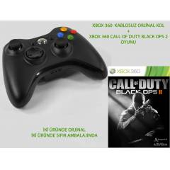 XBOX360 GAMEPAD +CALL OF DUTY BLACK OPS 2 OYUNU
