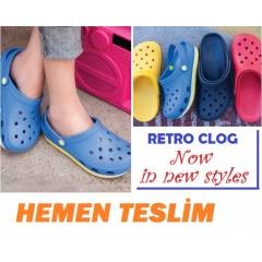 CROCS RETRO Clog BAY / BAYAN TERL�K-SON MODEL