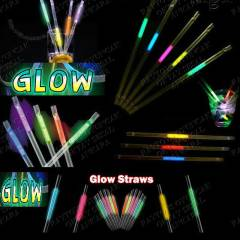 12 ADET I�IKLI GLOW P�PET DO�UM G�N� PART� �ZEL