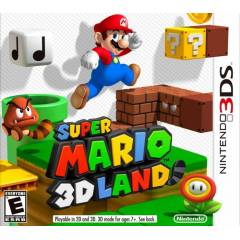 NINTENDO 3DS SUPER MARIO 3D LAND  STOKTA