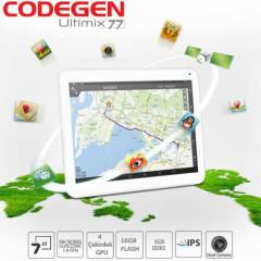 "Codegen Ultimix77 7"" Beyaz Tablet 4.1 Android"