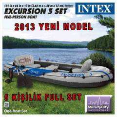 �ntex Bot 5 Ki�ilik Excursion 5 SET-SON 50 ADET!