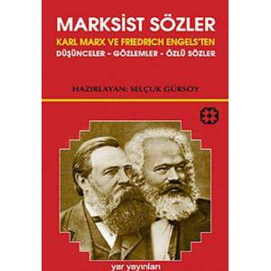 Marksist S�zler - Karl Marx ve Friedrich